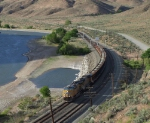 Ooh, conveyor ballast train