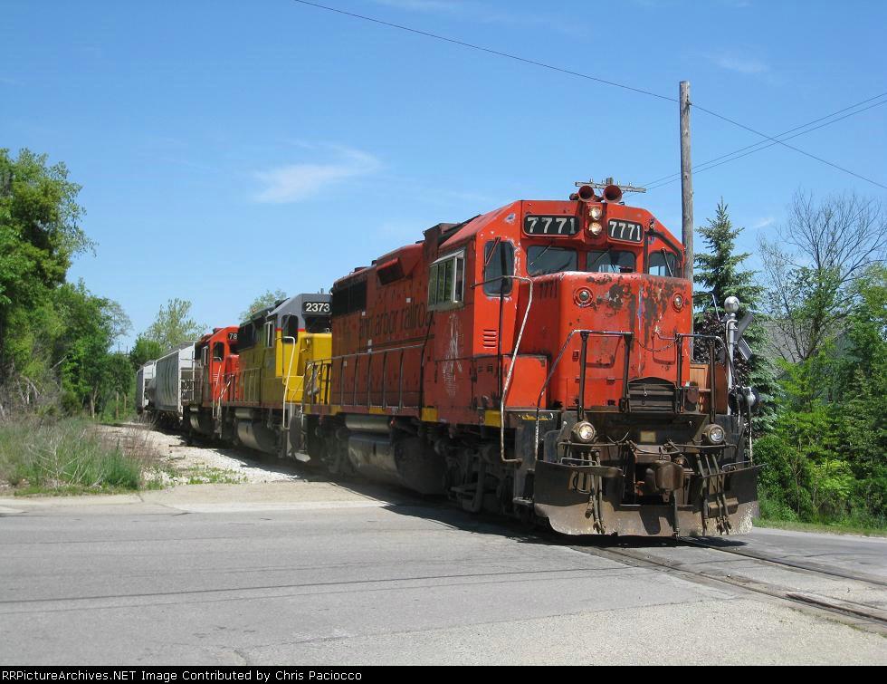 Southbound Ann Arbor Freight