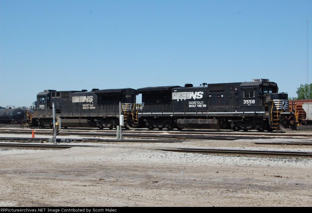 NS 3551 & 3558