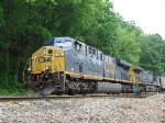 CSX 768 rests at Loyall Yard