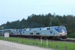 Amtrak At Speed