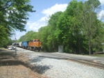 BNSF & Conrail pull Train 119