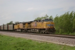 UP 6039 Leads Coal Loads EB