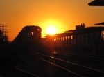 CSX at Sunset