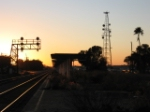 Sunset at former ACL depot