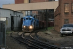 OHCR 4095 and 4097 bring a train from Newark into the yard