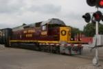 OHCR 4026 departs Zanesville yard