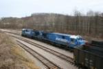 OHCR 7133 load a train at Buckingham Coal's Glouster loadout