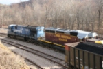 OHCR 7133 loads a train at Buckingham's mine