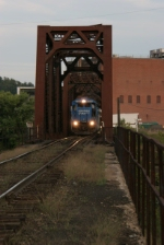 OHCR 4096 crossing the Muskingum River on route to Newark