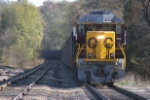 OHCR 4026 pushes uphill towards the tunnel at tunnel hill, named for the tunnel going through it.