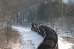 OHCR 4023 shoving NS coal train past Claybank, site of an old Peabody mine