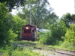 BSVY 1003 Leads the Daily Excursion Train Back into Town