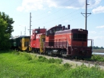 BSVY 1003 Precedes 2 Cabooses (out of 3 on the train) and 3 Passenger Cars on this Excursion Train
