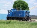 CRGX 9330 (ex-Conrail) Sits on a Cargill Siding