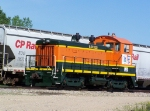 ILSX 3523 Works the Prairie Lakes Co-op Next to the CP Yard