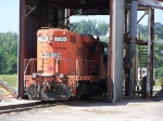 OHCR 770 is a Former Amtrak Unit Now Serving a Cargill Plant