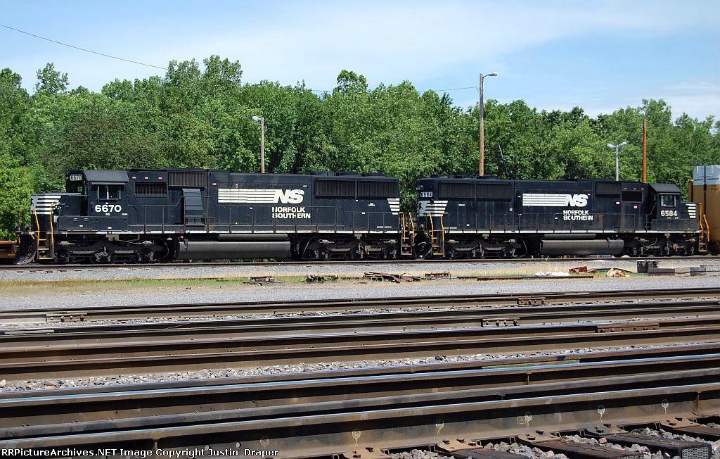 NS 6670 & NS 6584
