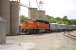 BNSF 115 with the BNSF Employee Special