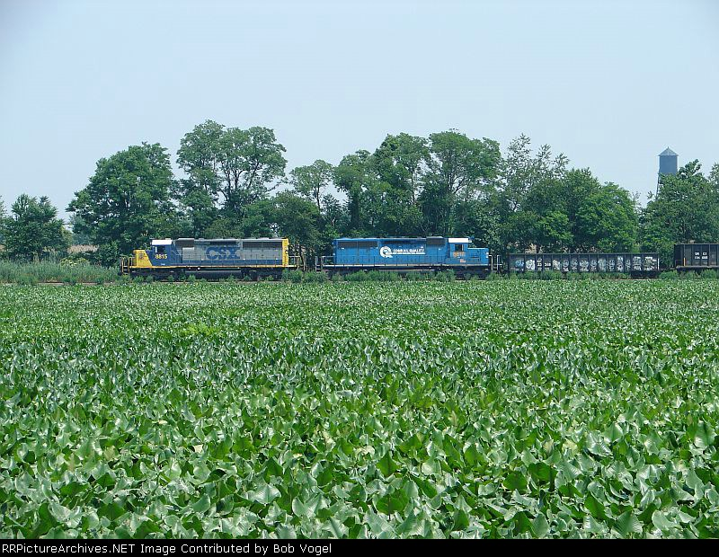 CSX 8815 and 8817
