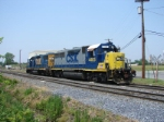 CSX 4405 and 2812
