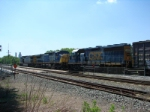 CSX 4403 and 9045