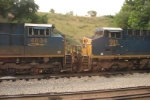 CSX 4834 and 591