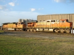 BNSF 6077 and 9948