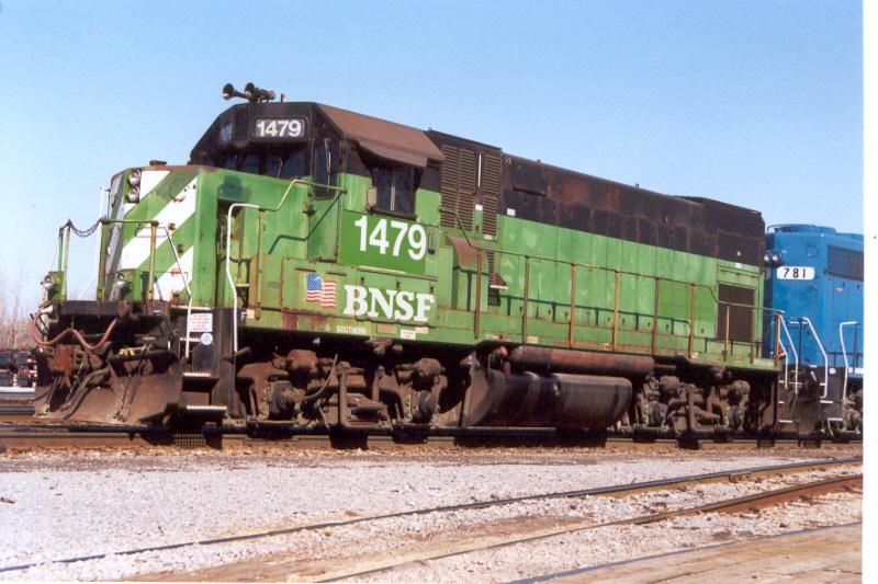 BNSF 1479 at BNSF's E.Thomas Yard