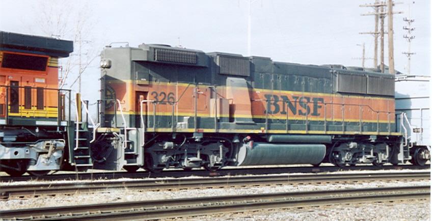 BNSF 326  (ex-ATSF)