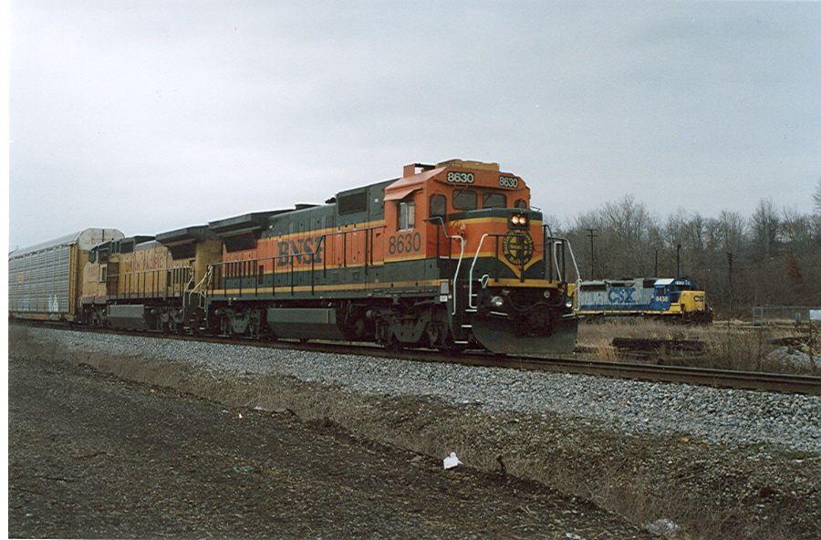 BNSF 8630 (ex-ATSF)