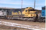 BNSF 6307 giving CSX a hand