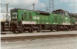 BNSF 1816 (ex-BN,nee-CB&Q)