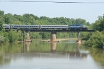 HOG 1540 crossing the Oconee river
