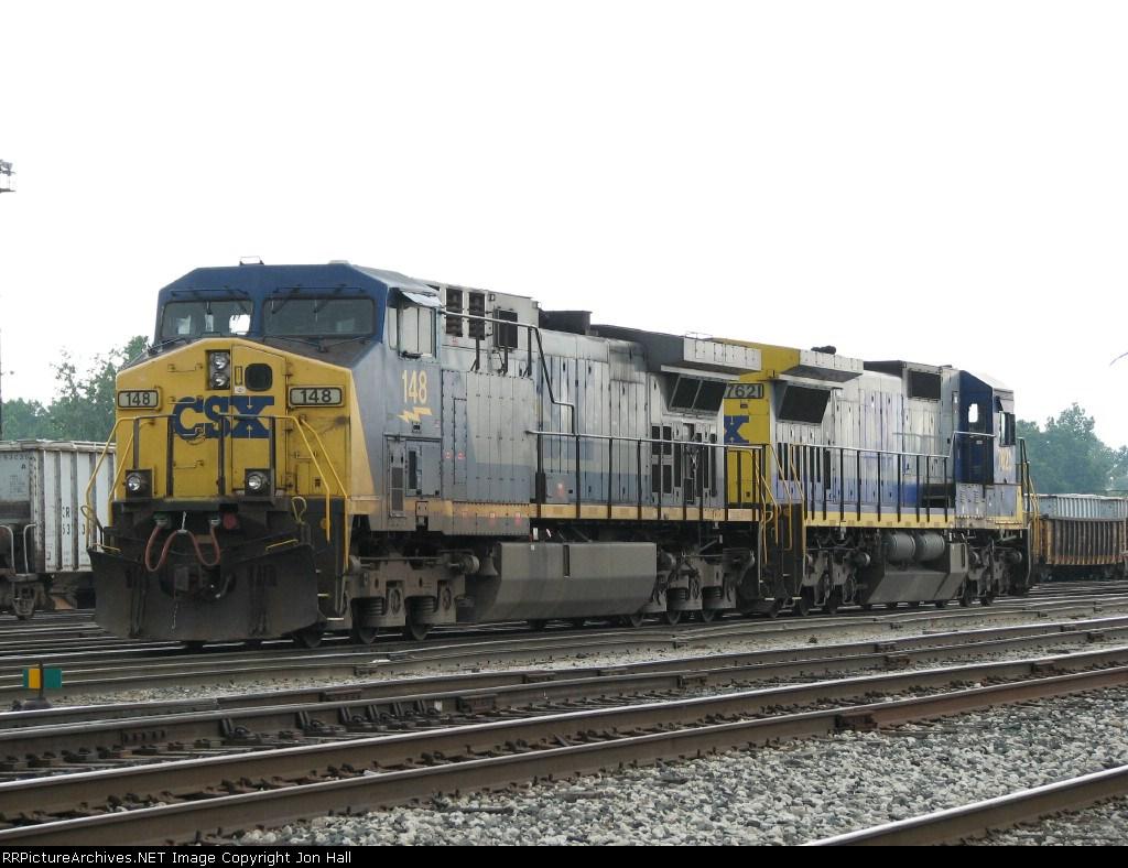 CSX 148 & 7621