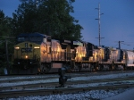 CSX 7787 & 5280 and two drones