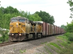 UP 6677 & 6453 crawl south at 10mph with 37E