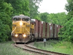 37E continues its slow journey southward