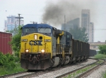 CSX 467 & 537 smoke it up as the pull east with E446-19