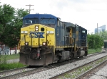 CSX 21 & 8755 head east lite power as Q326-23