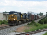 CSX 5318 & 277 leading Q335-23 west