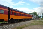 North Star Rail 1615 in MILW Hiawatha colors