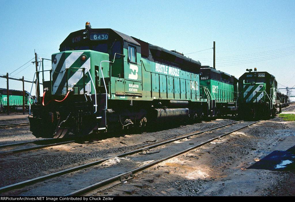 BN SD45 6430