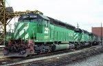 BN SD45 6504