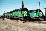 BN SD45 6542