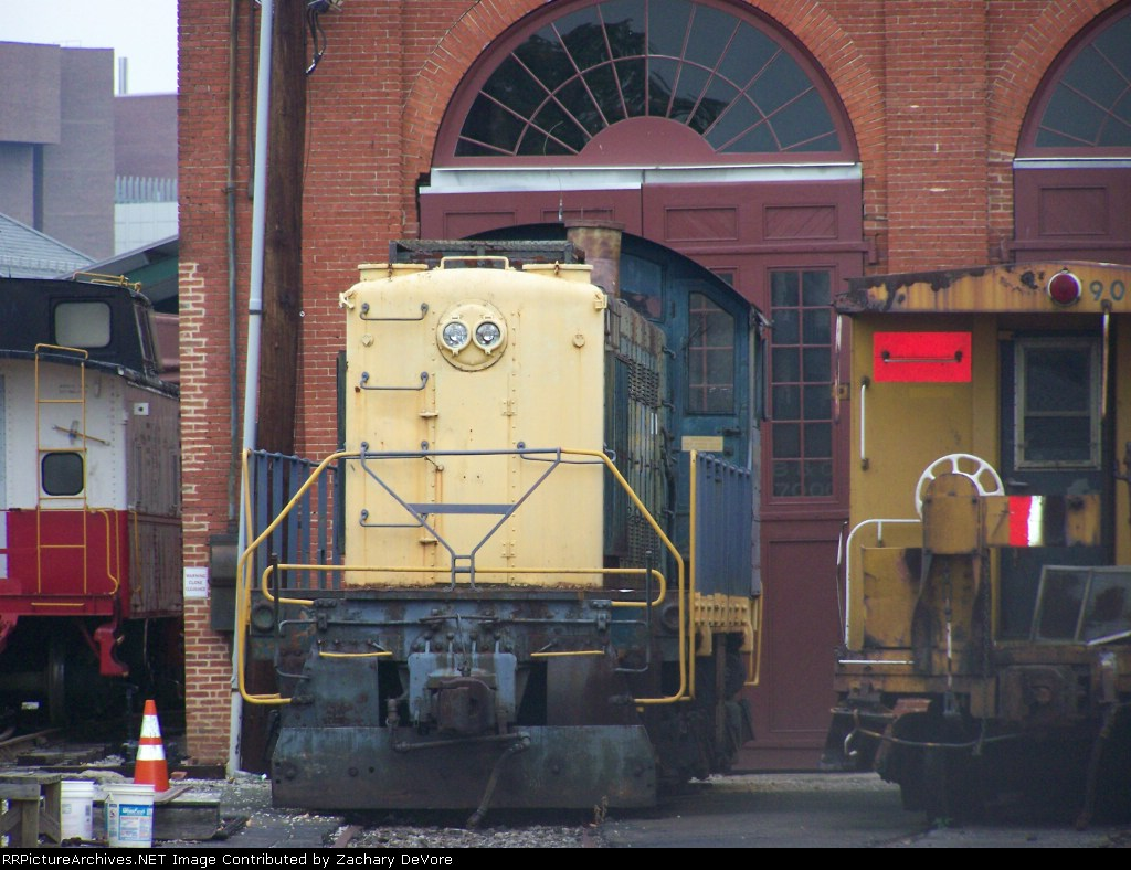 Unmarked B&O Museum Locomotive