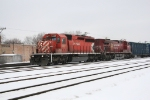 CP 5997 heading into the yard