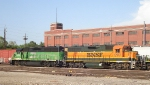BNSF 2177 with front end work
