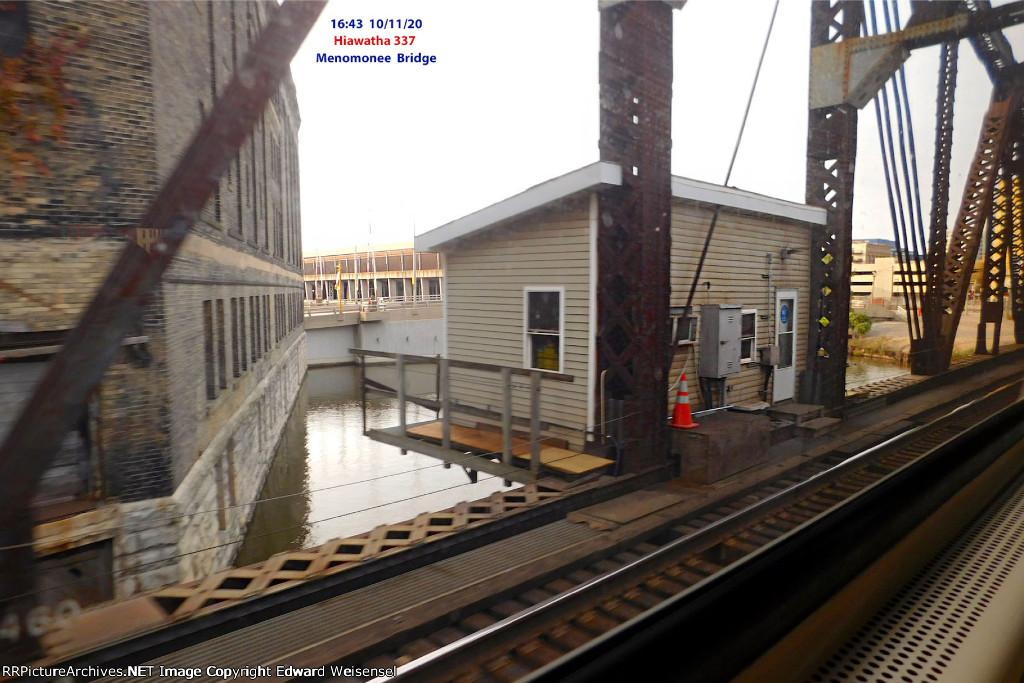 Menomonee swing bridge @ mp 85 is over 100 years young