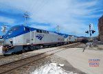 Empire Builder 7 heads for Wauwatosa